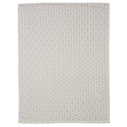 Alvi Manta de microfibra Rombo taupe 75 x 100 cm