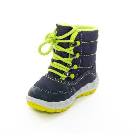 superfit  Drenge støvler Icebird blå/grøn (brede)