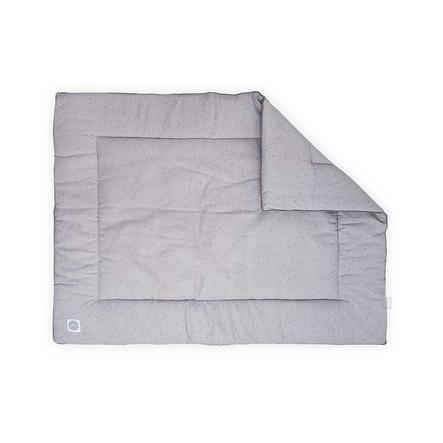 jollein Prošívaná přikrývka Mini Dots Mist Grey 80x100 cm
