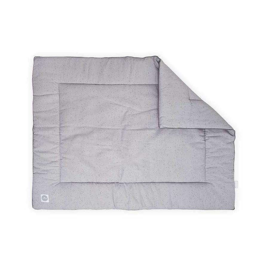jollein Boxkleed Mini Dots Mist Grey 80x100 cm