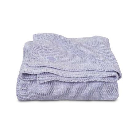jollein Couverture bébé tricot mélange knit soft mauve 75x100 cm