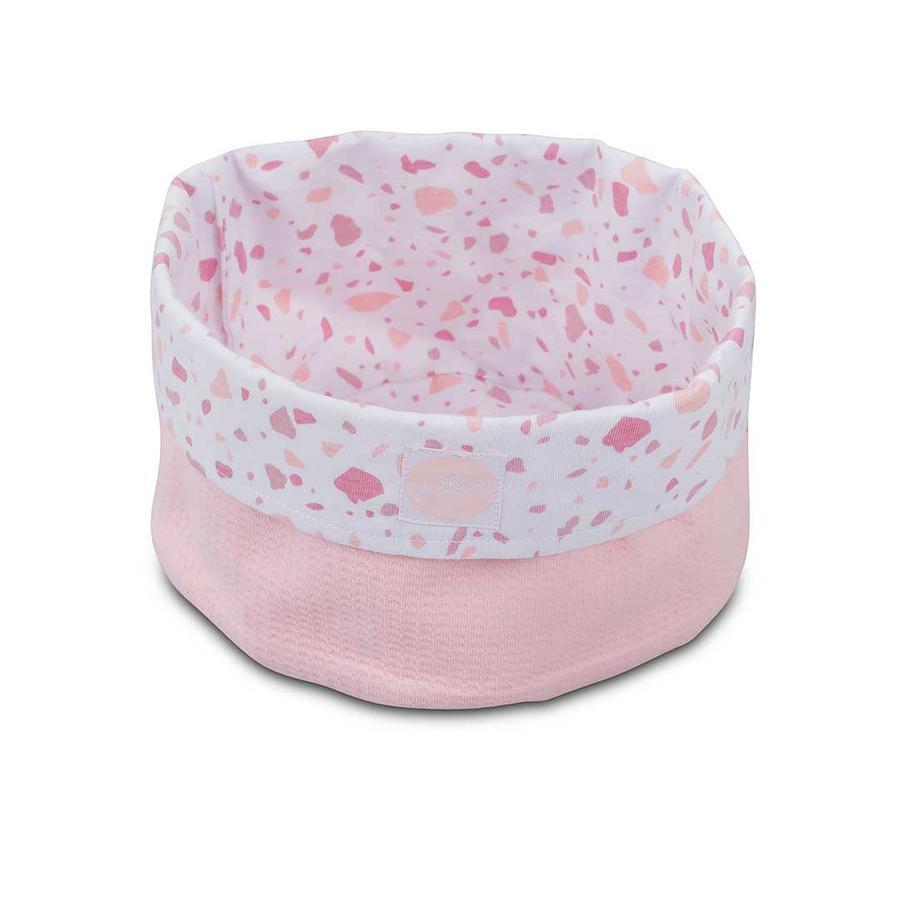 jollein Mandje Tiny Waflle Soft Pink