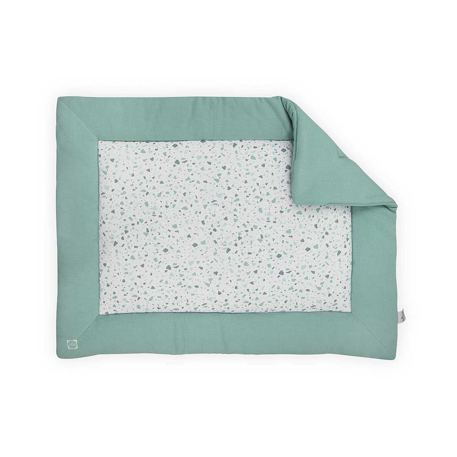 jollein Couverture bébé Tiny gaufré vert 80x100 cm