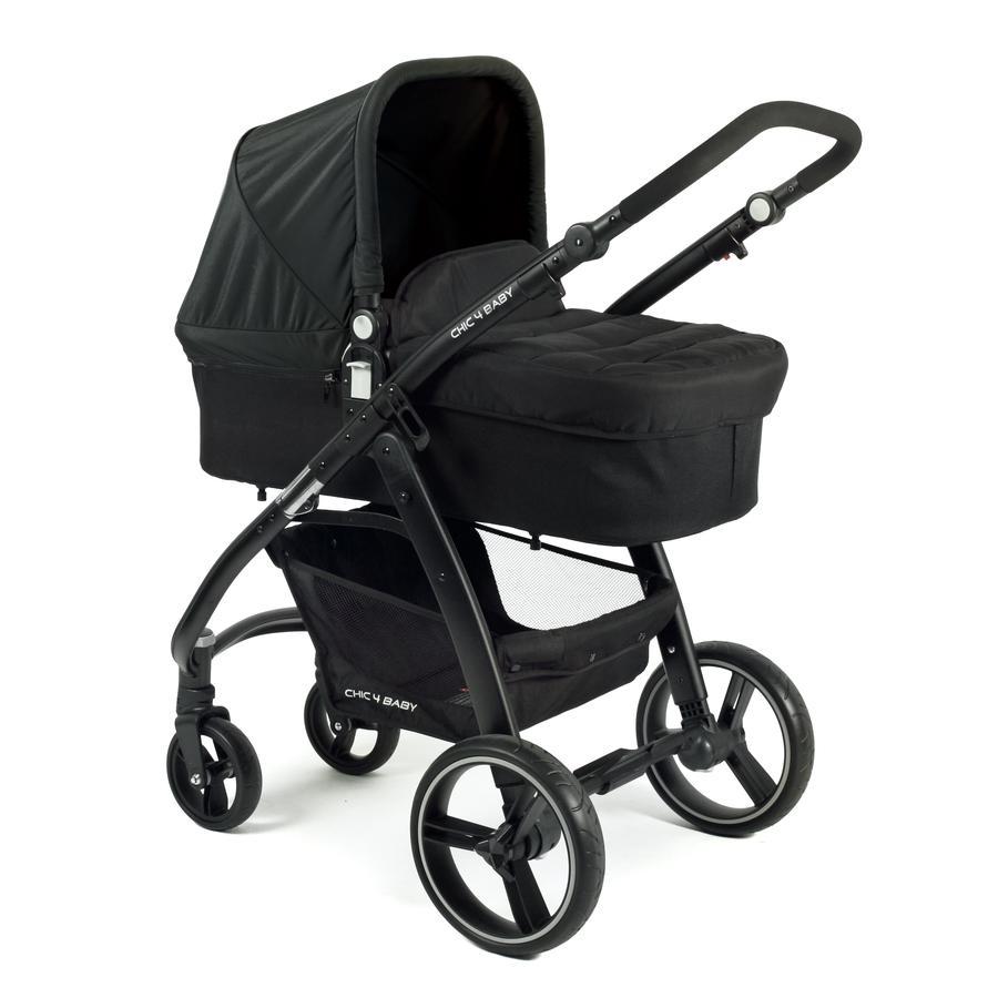 CHIC 4 BABY Combi Kinderwagen VOLARE zwart