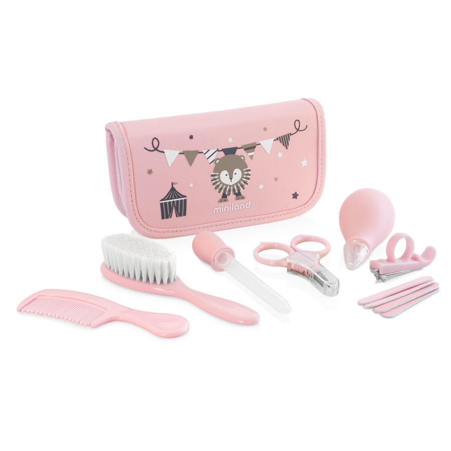 miniland Pflege-Set Baby Kit pink