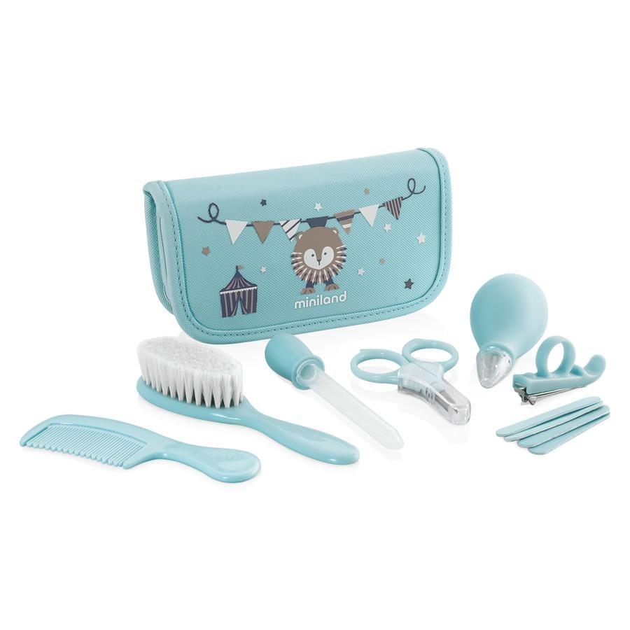 miniland Pflege-Set Baby Kit blau