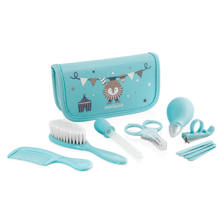 miniland verzorgingsset Baby Kit blauw