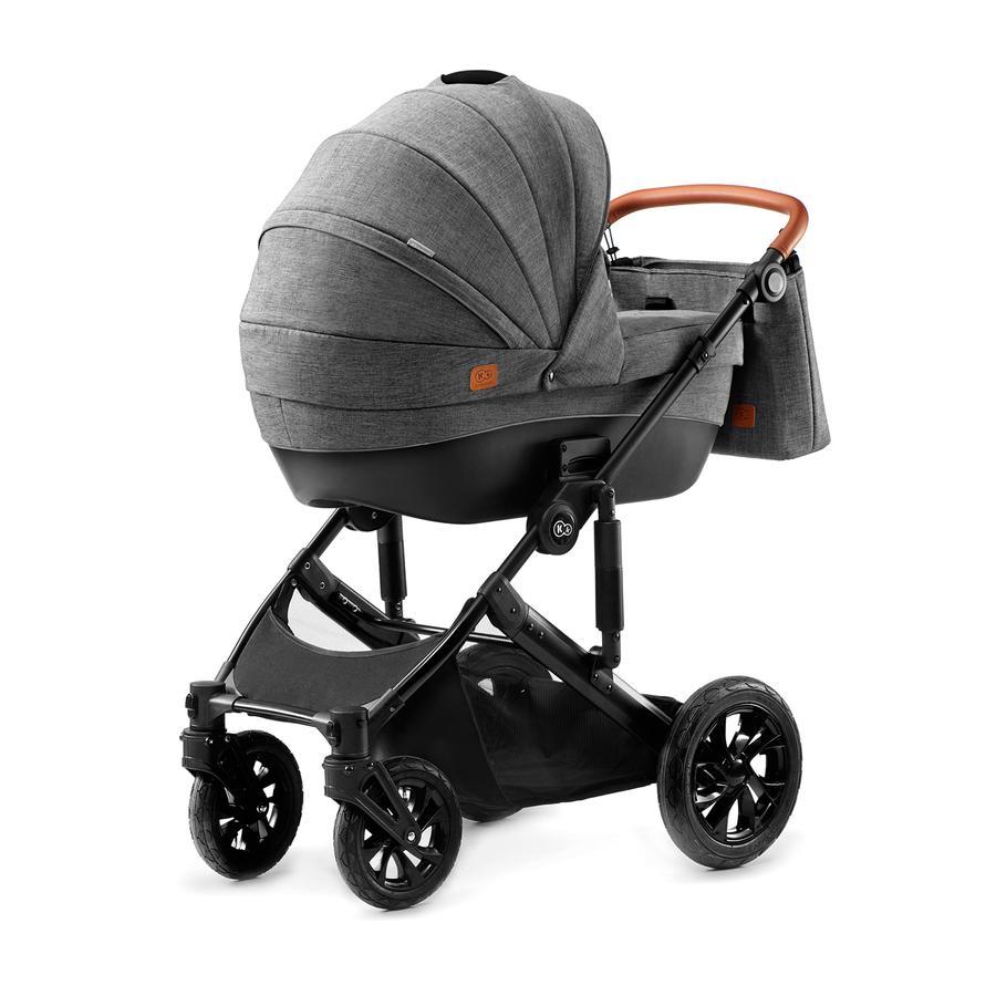Kinderkraft Kinderwagen Prime mit Zubehör grey
