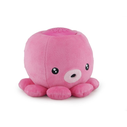 BABY MONSTERS Night Partners Noční lampička – chobotnice růžová