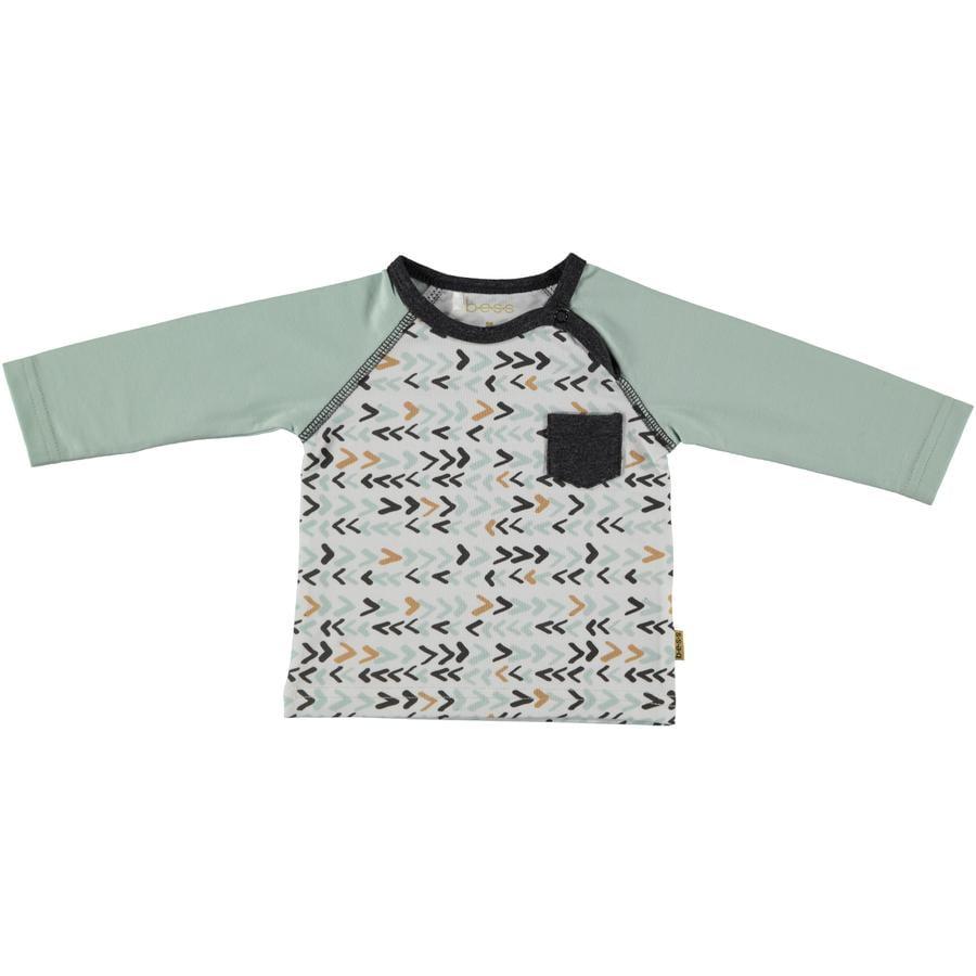 b.e.s.s Košile s dlouhým rukávem mátová