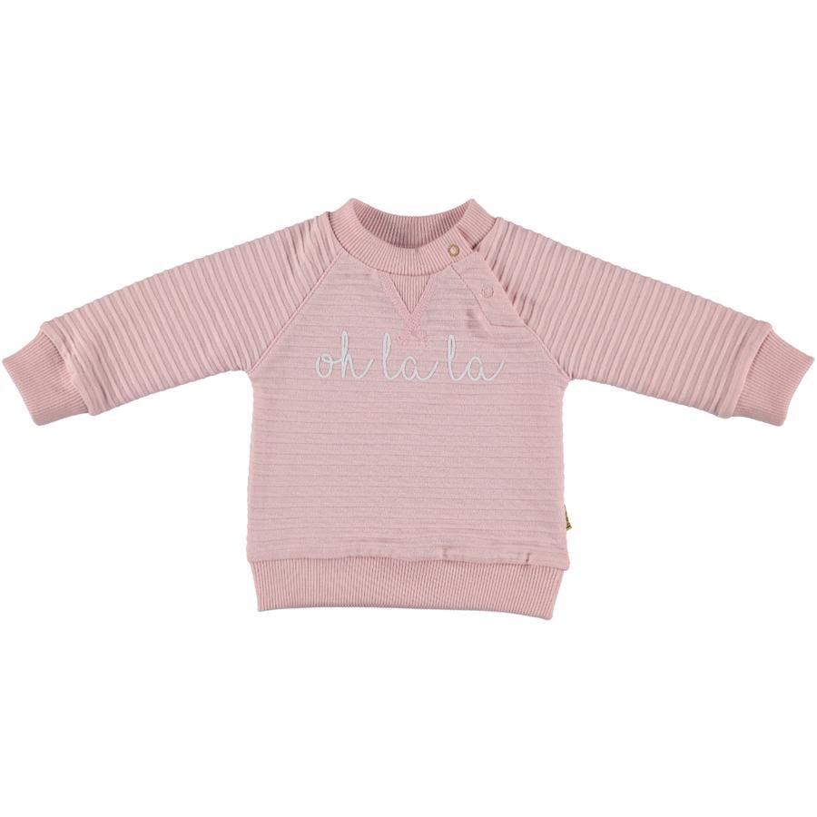 b.e.s.s Sweatshirt Oh La La La pink