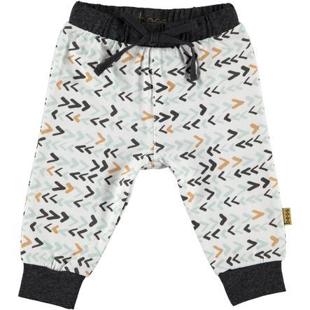 b.e.s.s Spodnie Jersey Pants Drukuj na biało.