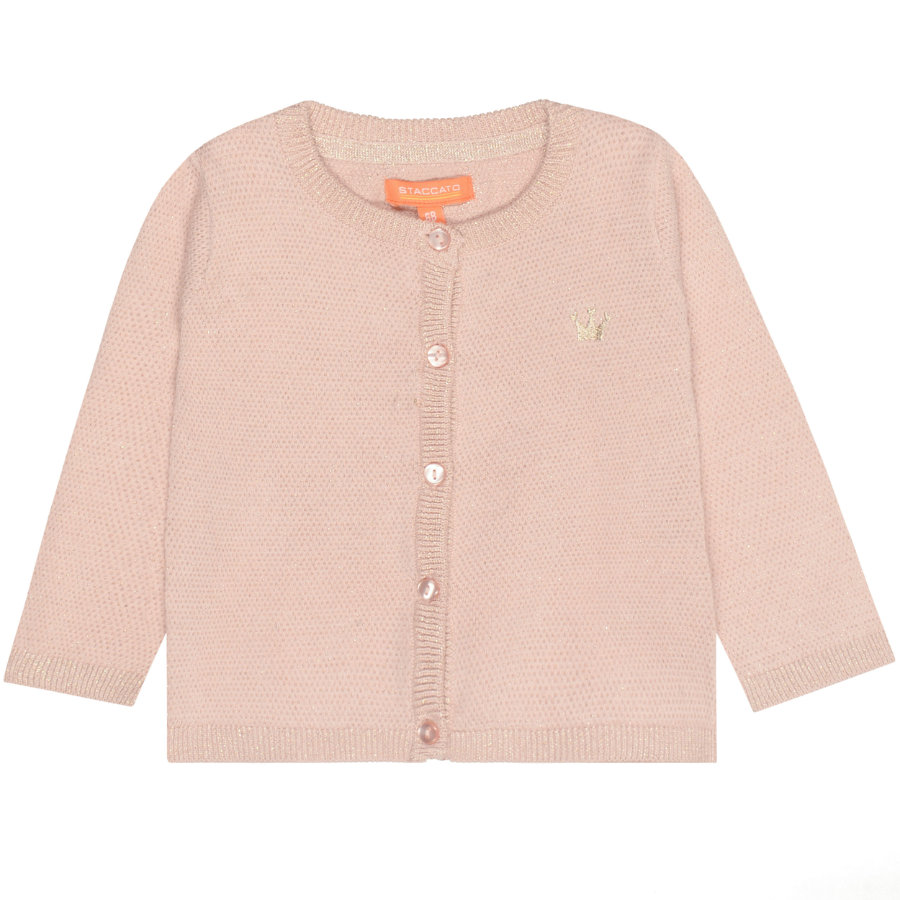STACCATO Girls Strickjacke pastel blush