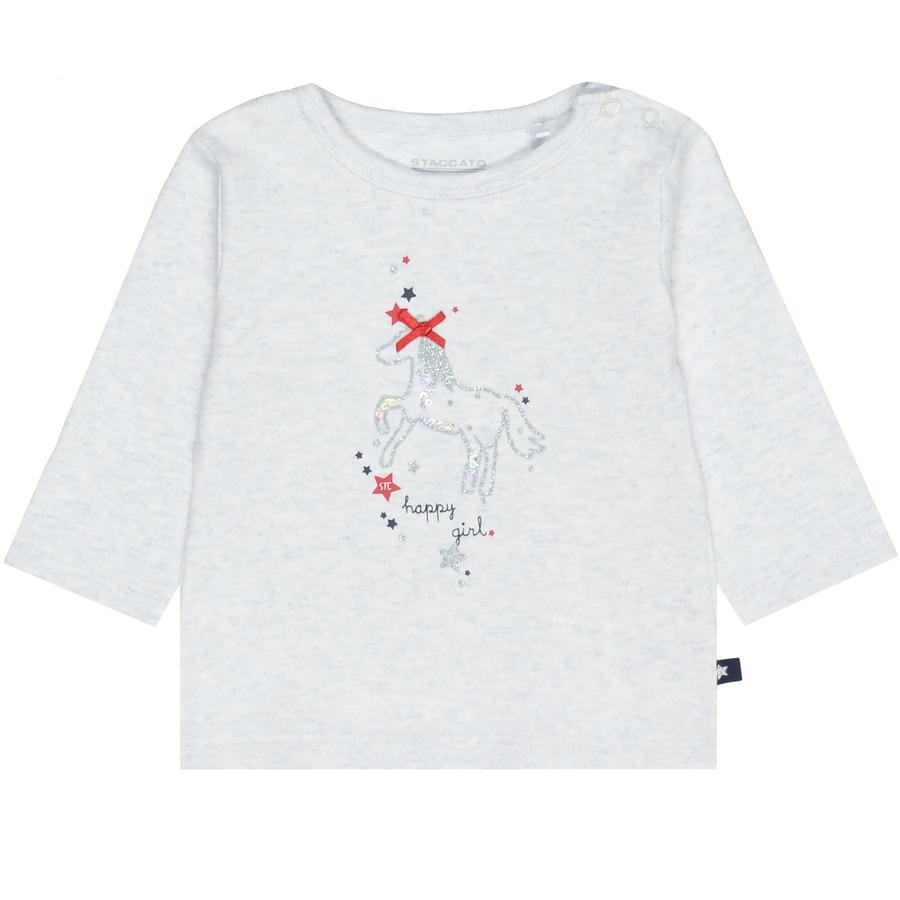 STACCATO girls skjorte off white melange