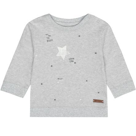 STACCATO Langermet skjorte for gutter mørk stein melange