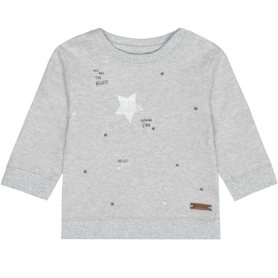 STACCATO Boys Shirt met lange mouwen donker steenmelange