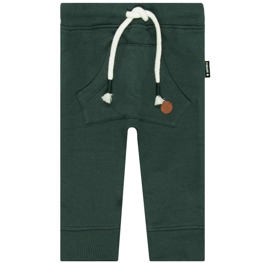 STACCATO Boys pantalon de survêtement vert foncé