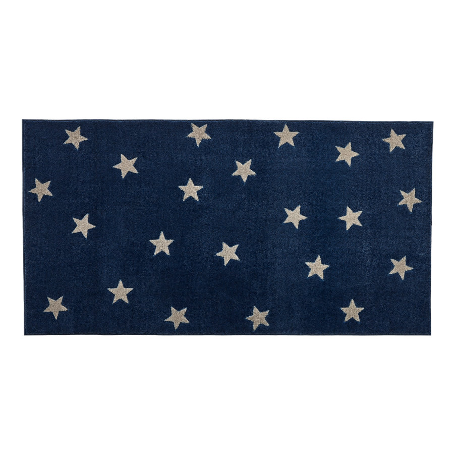 LIFETIME Dywan Blue and Stars 3D Handcarving, 100 x 180 cm