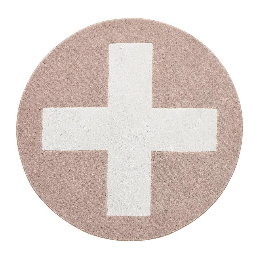 LIFETIME Teppich Pink X 3D Handcarving, 133 cm