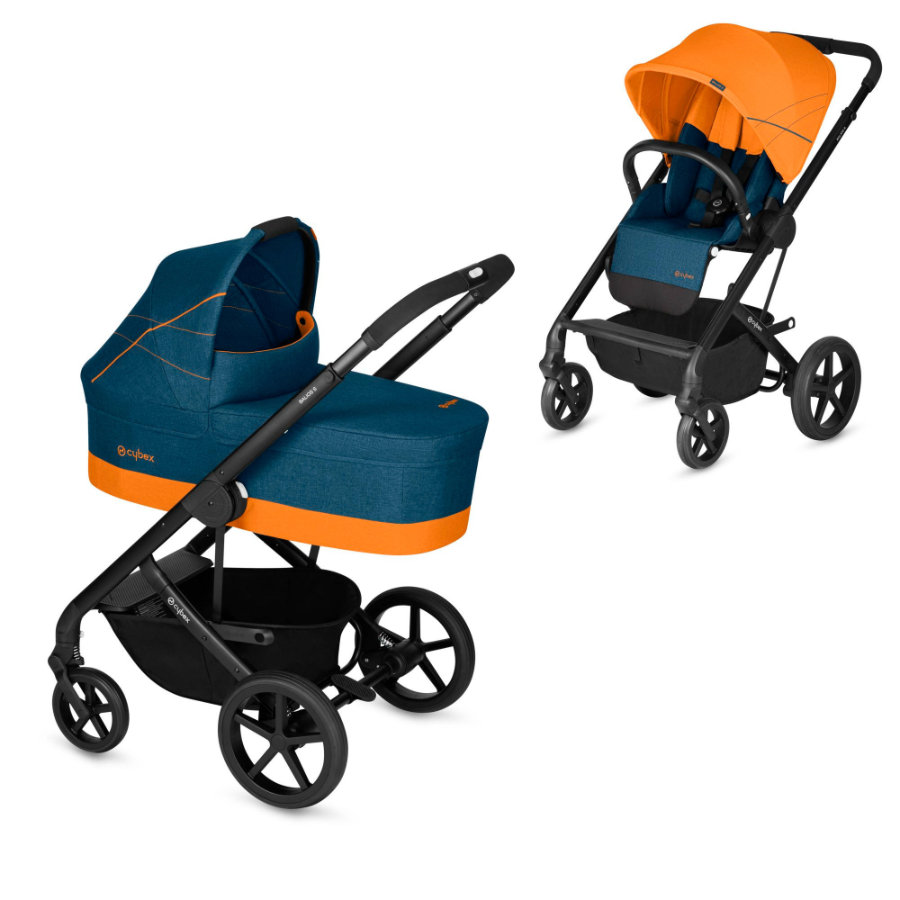 cybex Balios S inklusive Liggdel Cot S Tropical Blue