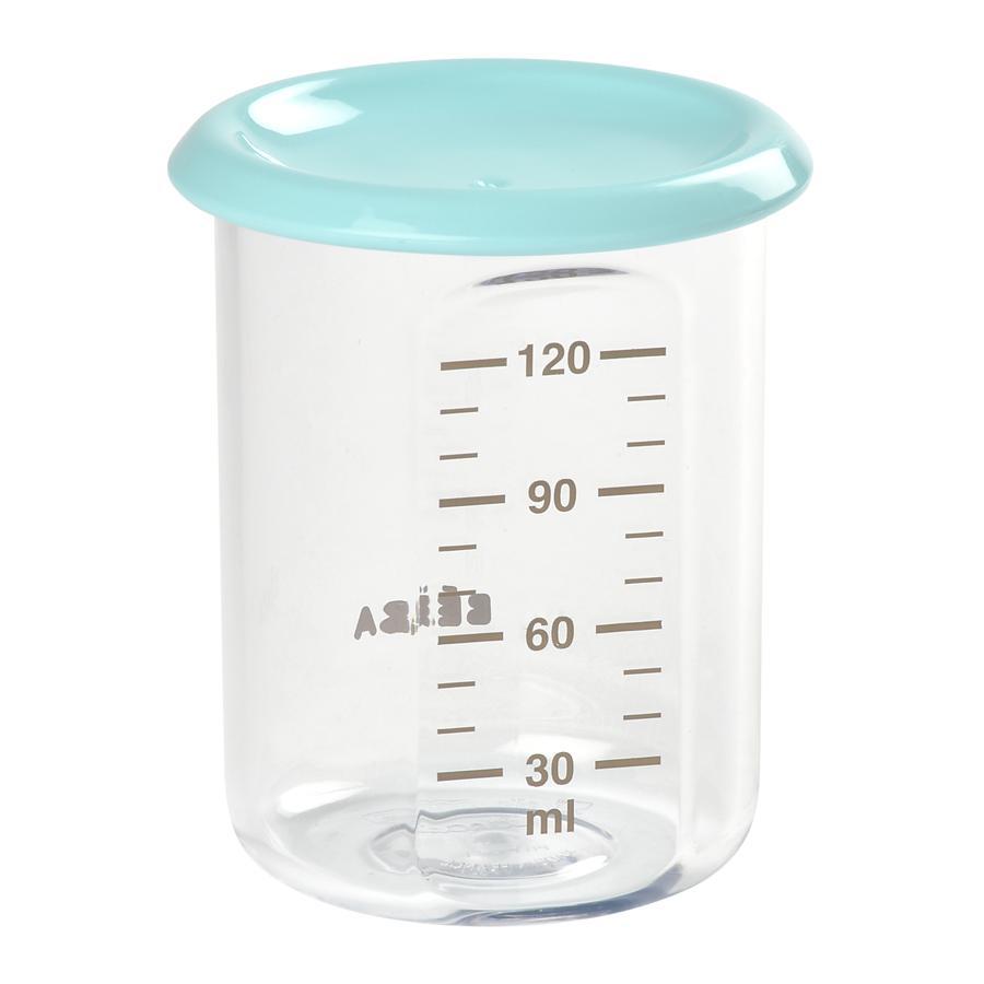 BEABA Envase de porciones Tritan azul claro 120ml