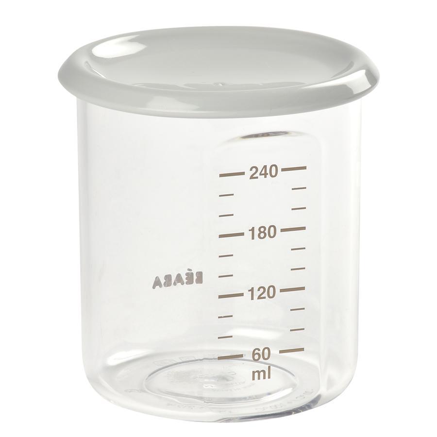 BEABA Maxi Porcja Pojemnik Tritan szary 240ml