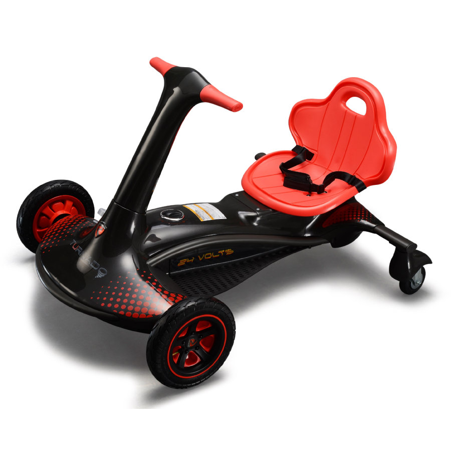 ROLLPLAY Turando Drift Racer 24V zwart