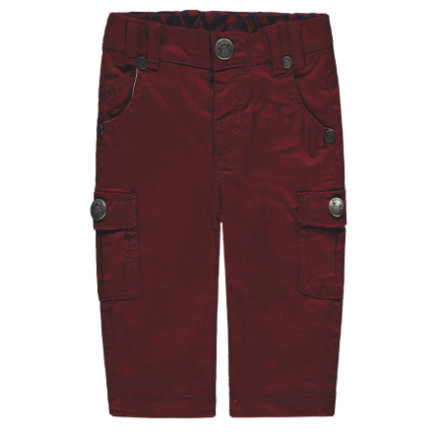 bellybutton Boys Spodnie, ciemno czerwone.