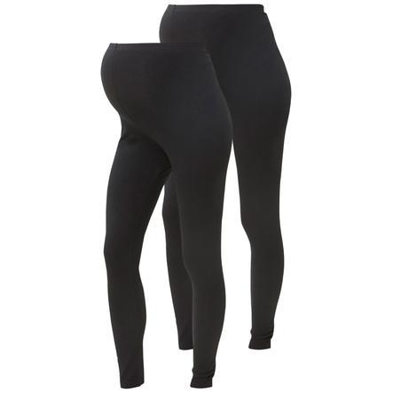 MAMA LICIOUS Těhotenské leggings MLLEA 2 ks