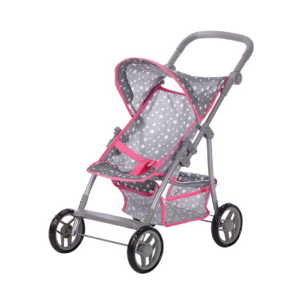 knorr® toys Puppenbuggy Liba - Star grey