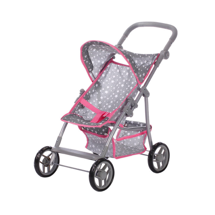 knorr® toys Passeggino per bambole Liba - Star grey
