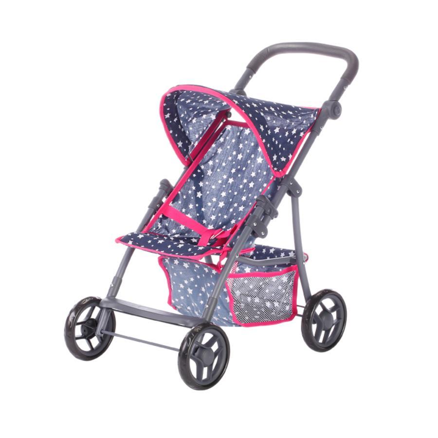 knorr® hračky panenka kočárek Liba - Star Blue