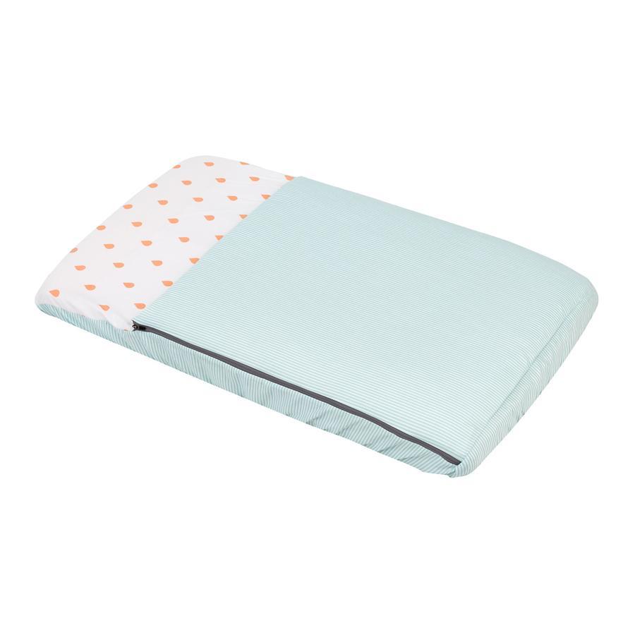 cambrass Schlafsack mit integrierter Matratze 49,5 x 83,5 cm be Wassermelone orange