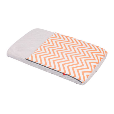 cambrass Sacco nanna con materasso integrato 49,5 x 83,5 cm be Zigzag/orange