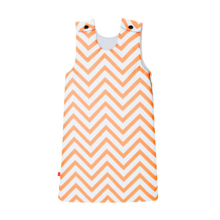 cambrass Gigoteuse bébé be Zigzag orange 70 cm