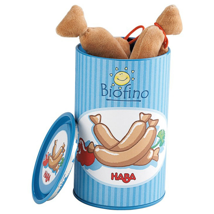 HABA Biofino Toy Shop Canned Sausages