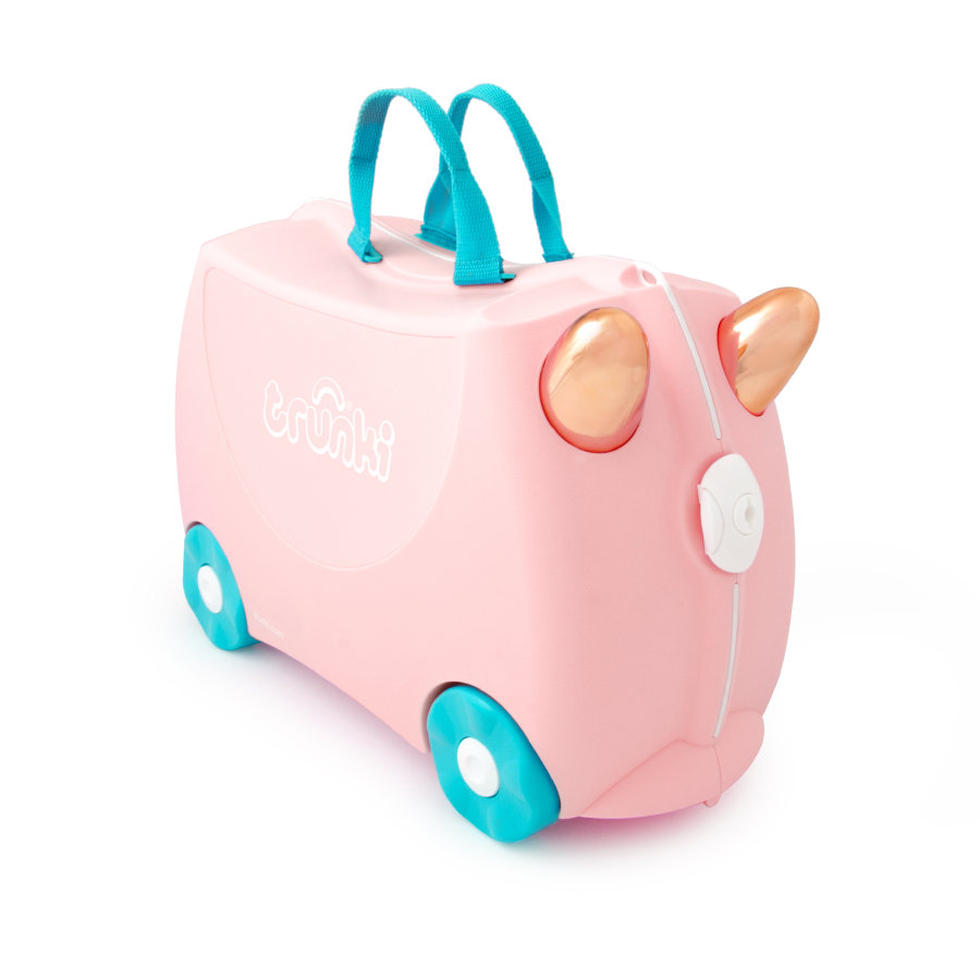 trunki barnekoffert - Flamingoen Flossi