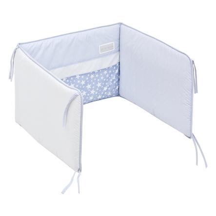 cambrass Ochraniacz do łóżeczka Star 67x40cm, niebieski