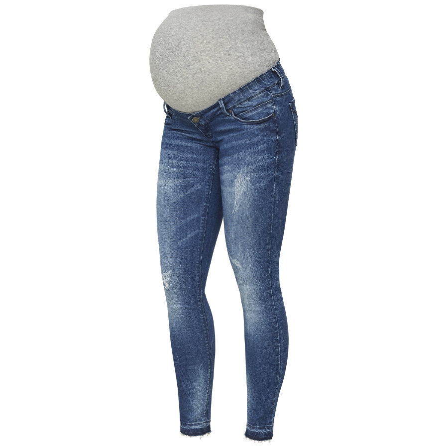 mama licious Umstandsjeans MLSALO Medium Blue Denim