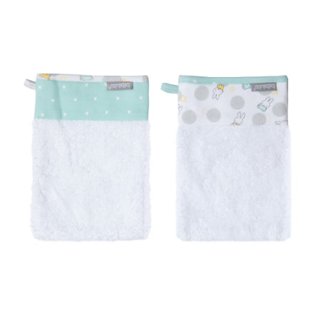 bébé-jou Bamboo Wash Glove Miffy 2-pack