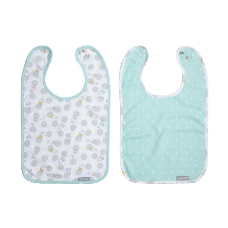 bébé-jou Lätzchen Miffy 2er-Pack