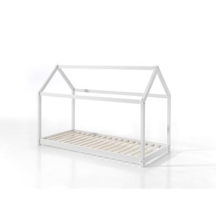VIPACK postel domeček Cabane 90 x 200 cm bílá