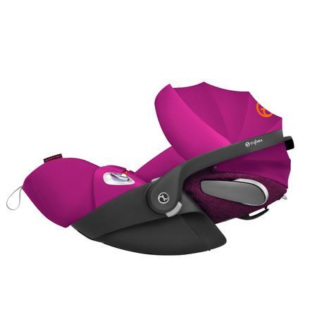 cybex PLATINUM Babyschale Cloud Z i-Size inklusive Sensorsafe Passion Pink