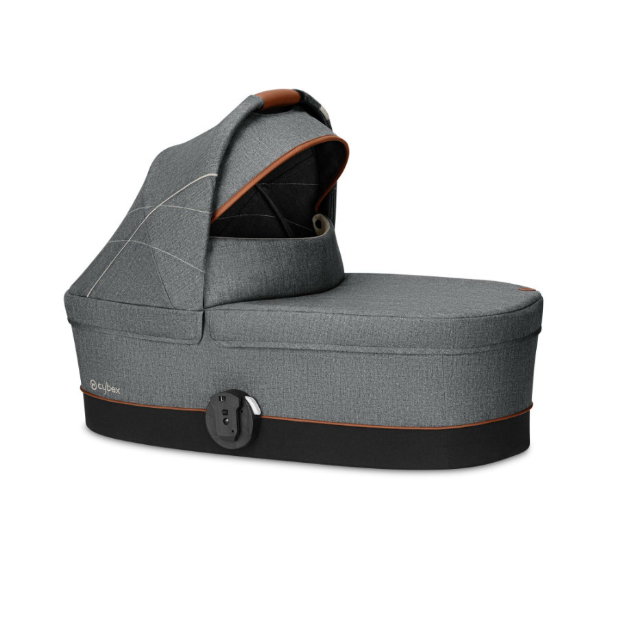 cybex GOLD reiswieg Cot S Denim Manhattan Grey