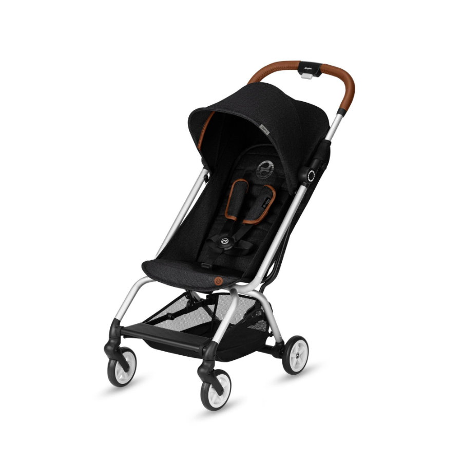 cybex GOLD Wózek spacerowy Eezy S Denim Lavastone Black