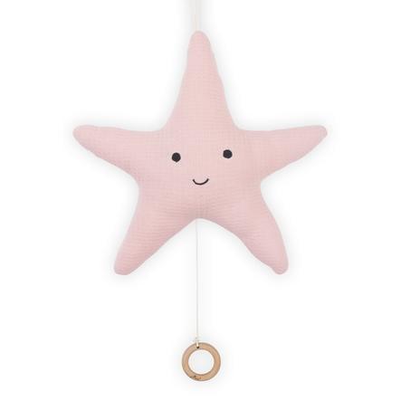 Jollein Spieluhr Seestern Tiny waffle soft pink