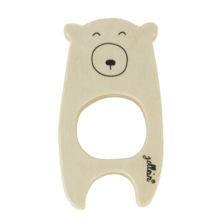 Jollein Anillo de dentición de oso de madera