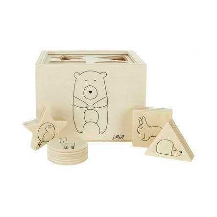 Jollein Třídění hraček ze dřeva Lesní přátelé