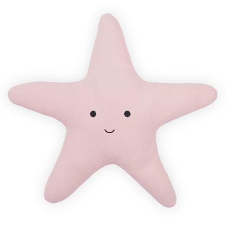 Jollein Poduszka Rozgwiazda Tiny waffle soft pink