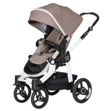 Hartan Kinderwagen Racer GTX Little Family (636) frame wit